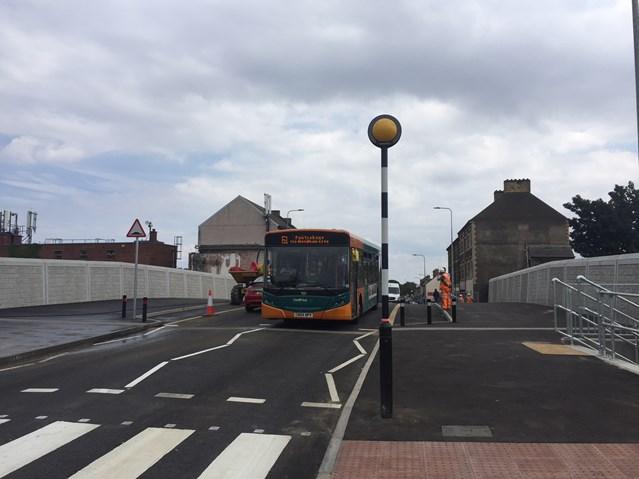 Splott road bridge reopens following reconstruction: Splott Road Reopened