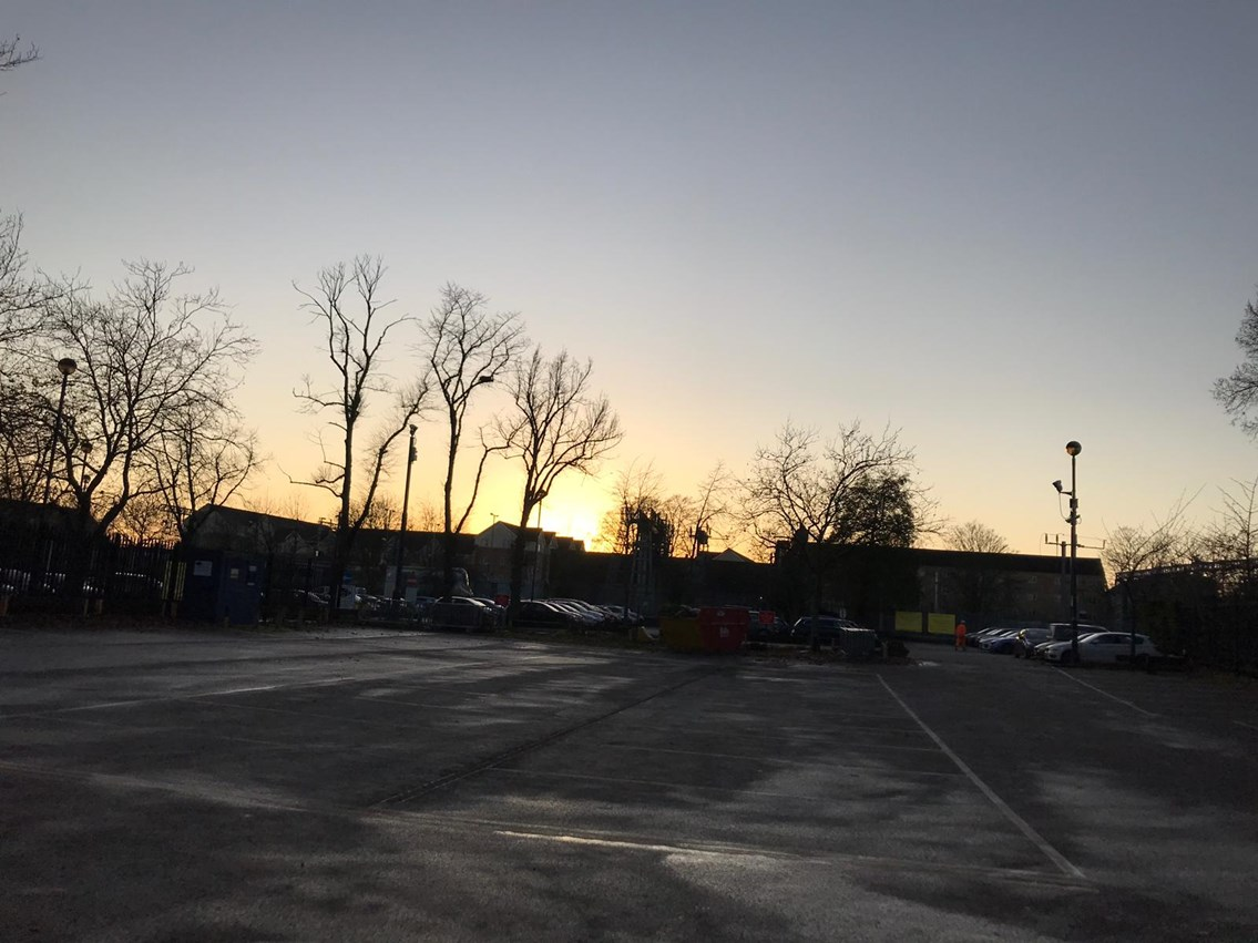 Bedford station car park reopens early for customers: Bedford station car park reopens early for customers