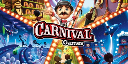 Come one, come all! Carnival Games® Available Today: Carnival Games Art