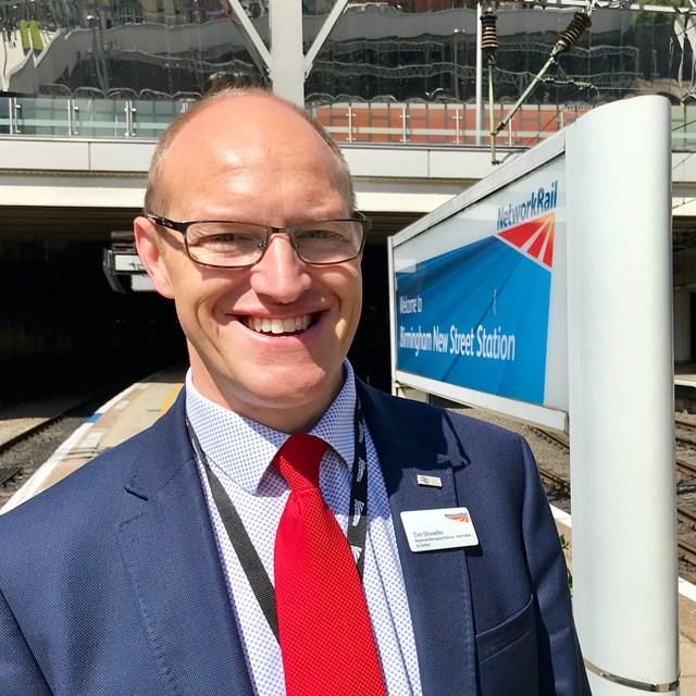 Tim Shoveller, North West & Central region managing director