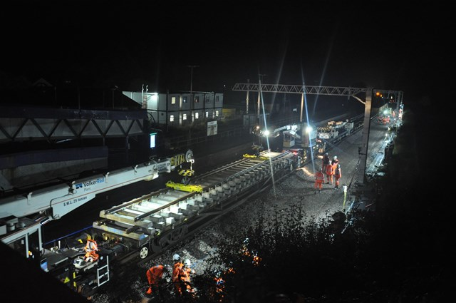 Major track improvements underway in latest stage of Transpennine Route Upgrade: Track upgrades, York to Church Fenton