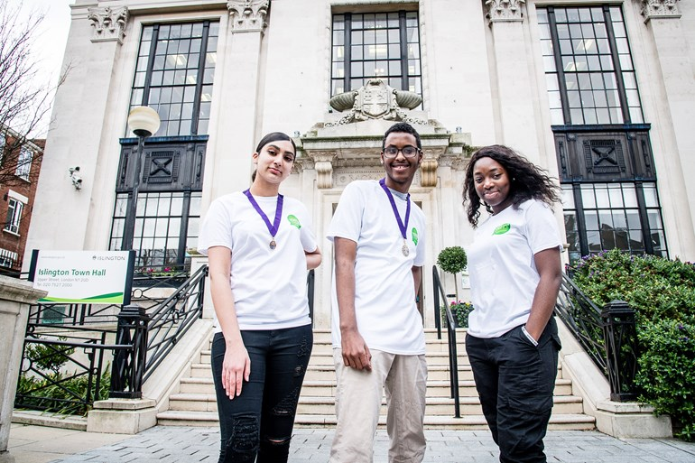 Islington elects new Young Mayor, Deputy Young Mayor and Member for Youth Parliament