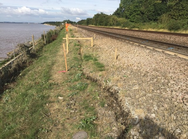 Residents reminded of footpath closure next month as Network Rail work to protect East Yorkshire railway embankment