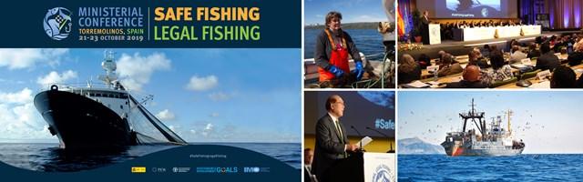 IMO safe fishing banner large