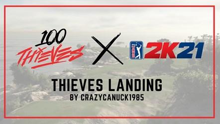 PGA TOUR 2K21 Thieves Landing Art