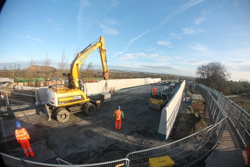 A71 in West Calder to re-open early: Work on track at West Calder to re-open bridge two weeks ahead of schedule