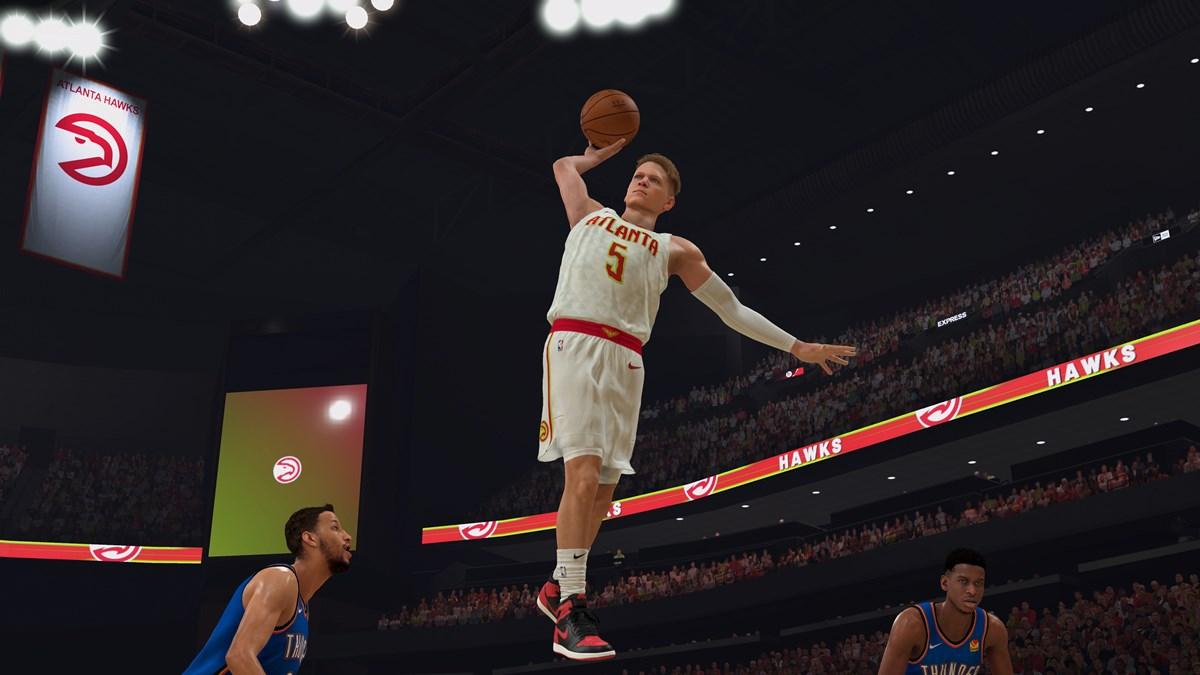 NBA 2K20 - William Floyd Atlanta Hawks Dunk