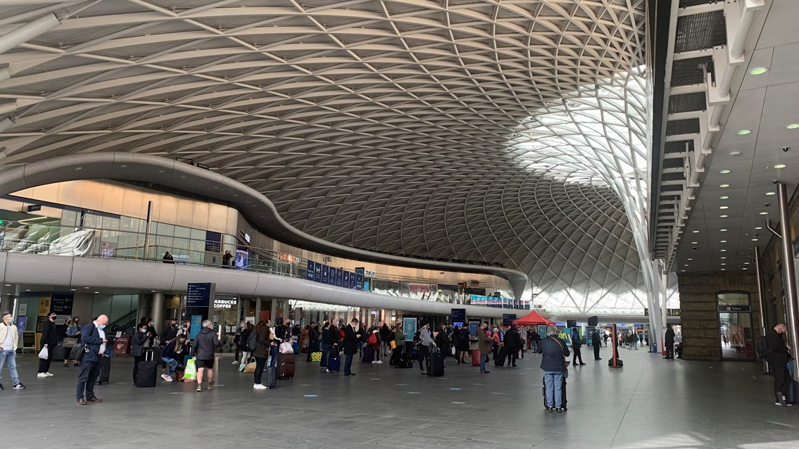 Passengers reminded of three-day closure at King's Cross station 23rd-25th April: King's Cross-107