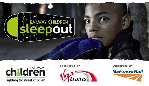 Railway Children Sleepout Logo header
