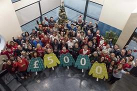 Arriva staff raise £5,000 through festive jumper day: Arriva staff raise £5,000 through festive jumper day