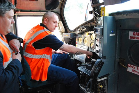 Train driving is automated with ERTMS