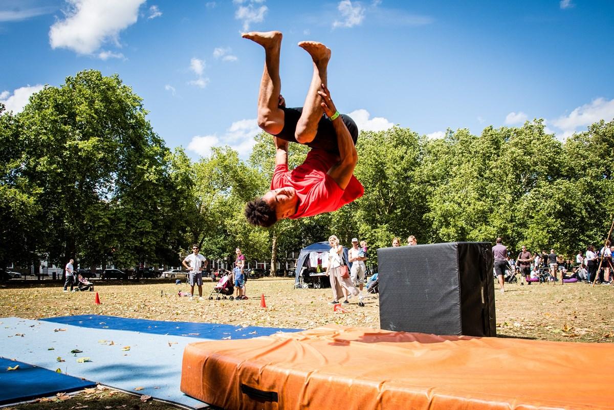 Go! Islington - activity at the 2018 Festival