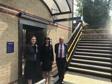 Nicola Butterworth, Network Rail, MP Rachel Reeves, Phil Sheard, Northern Rail