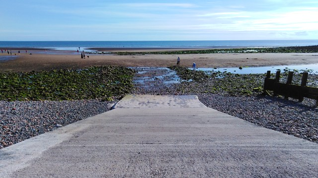 St Bees repaired lifeboat ramp