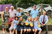 Llanishen station adopter invites local primary school to help care for their community: IMG 7475