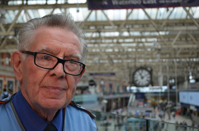 Waterloo's 170 years old and lays claim to Britain's longest serving railway worker: Don Buckley Waterloo-1