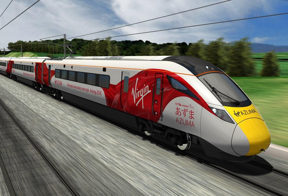 Network Rail to extend platform at Northallerton station: Virgin Trains Azuma