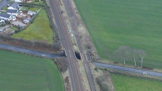 Network Rail on track to refurbish Mauchline bridges: Adjacent rail bridges over Ayr Road, Mauchline set for refurbishment