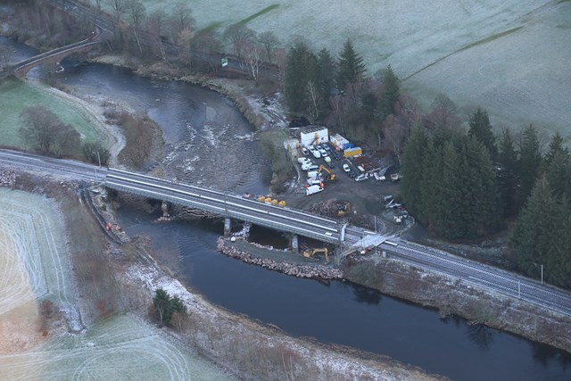Work at Lamington Viaduct to continue throughout February: Lamington Viaduct recovery works 1