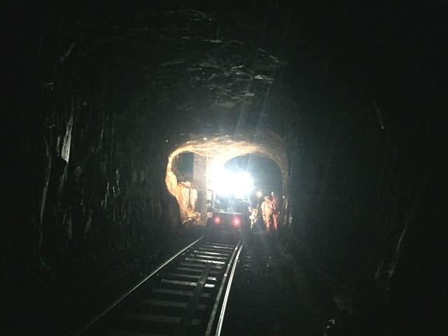 Blaenau Ffestiniog tunnel 2