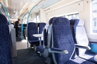 £30 million investment in revamp for 112 of Southeastern's trains to improve passenger experience: Class 375 interior