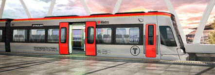 South Wales Metro Vehicle artist's impression