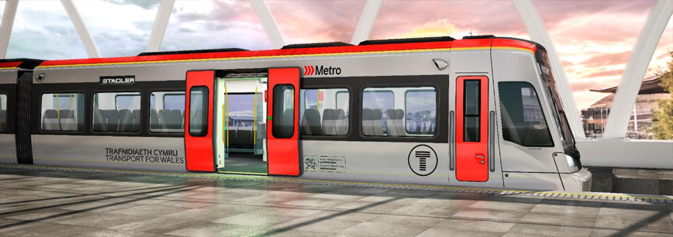 Transport for Wales award first ECI contracts for South Wales Metro: South Wales Metro Vehicle artist's impression
