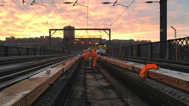 New benefits for rail passengers as 330 projects, worth over £148m, finish on time: Project to keep Newcastle's railways running reliably completes for another year