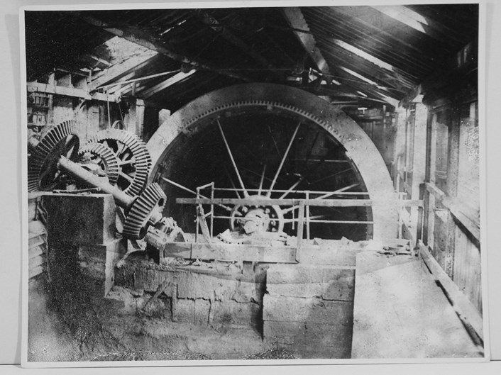Song of the Female Textile Workers: A pair of 19th century waterwheels at Armley Mills, once the world's largest woollen mill.