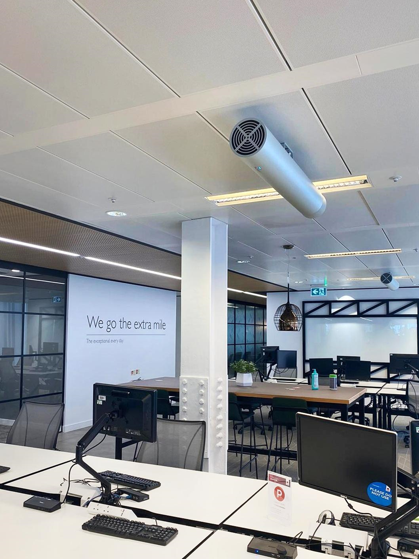 Mitie has reopened its Head Office in The Shard, following the installation of UV air disinfection technology, thermal imaging cameras, and the use of long-lasting anti-viral cleaning products