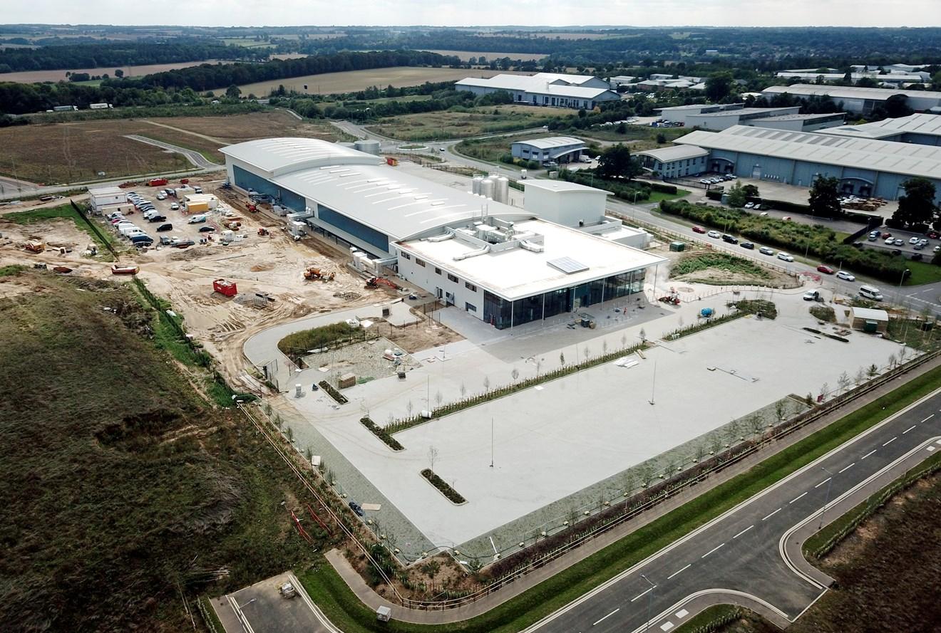 Siemens to power digitalisation at Treatt's new global headquarters: Treatt New Site Sept 1st