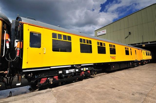 Network Rail's ultrasonic train
