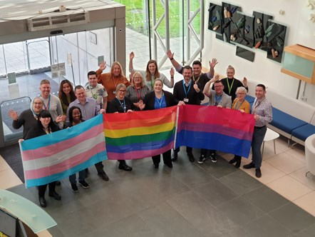 NHS organisation named one of Britain's top LGBT inclusive employers: NHSBSA Stonewall Award