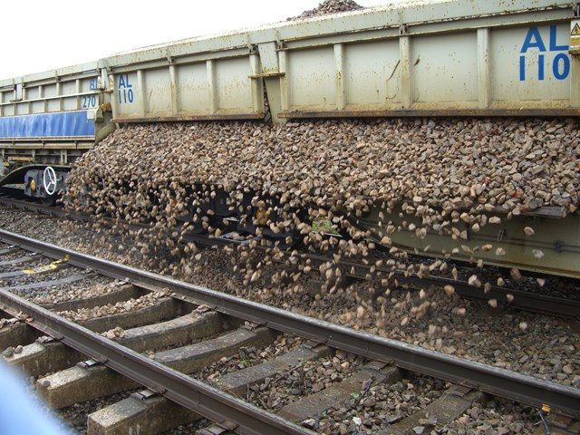 Ballast replaced at Pandy