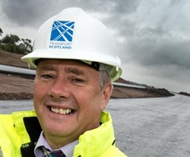 Keith Brown, Cabinet Secretary for Infrastructure crop