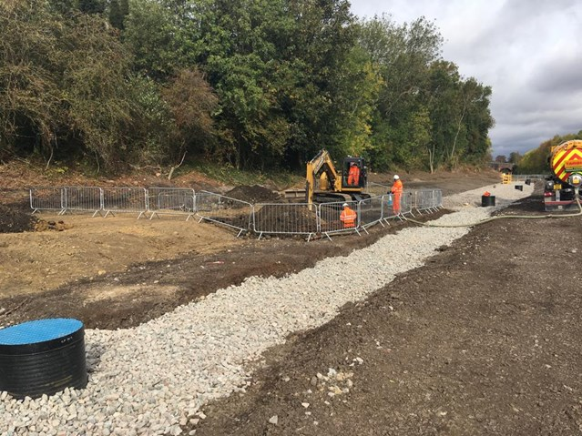 Market Harborough residents invited to find out about latest stage of railway upgrade: Network Rail workers begin to dig new track bed at Market Harborough railway station