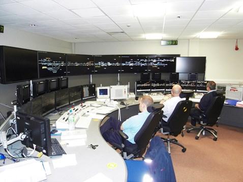 New VDUs, Colchester signal box