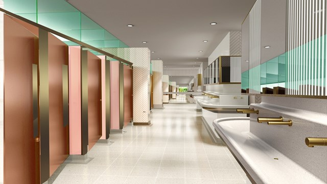 London's busiest toilets close for £4m revamp – but you still won't need to spend a penny when they reopen: Vic toilet image 2