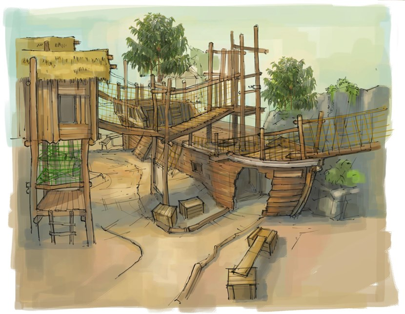 Proposals for new indoor play facility at The Arnold and Marjorie Ziff Tropical World to be discussed by executive board: ship-577885.jpg