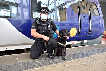 PC Phil Healy and Harry