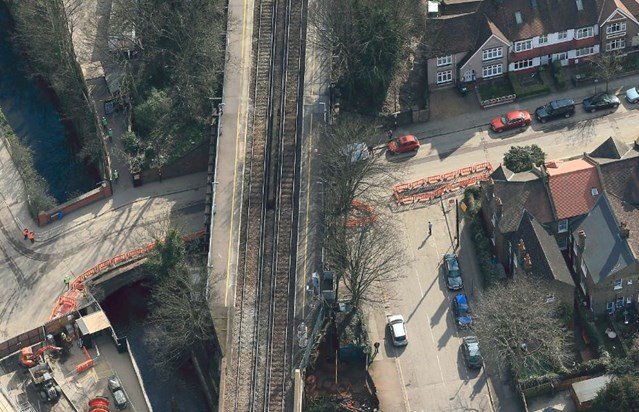 Railway neighbours invited to Catford community meeting as Network Rail prepares to replace Victorian bridge: Westdown Road bridge - Catford
