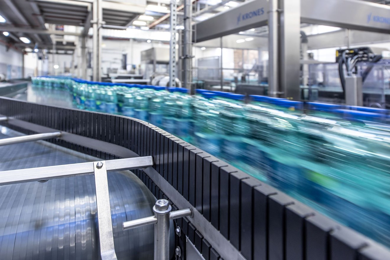 Siemens: UK manufacturers must step-up energy resilience planning to meet the challenges of tomorrow: Picture Siemens Bottling plant