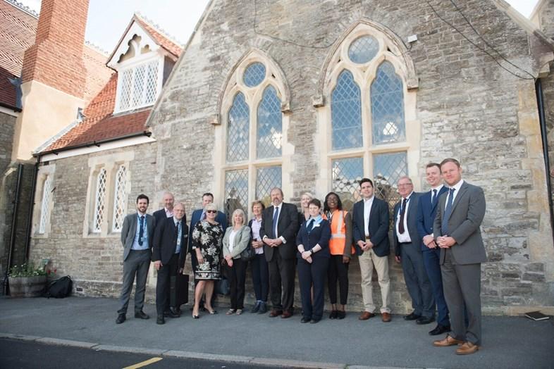 MP visit signals successful station refurbishment: Battle Station refurbished