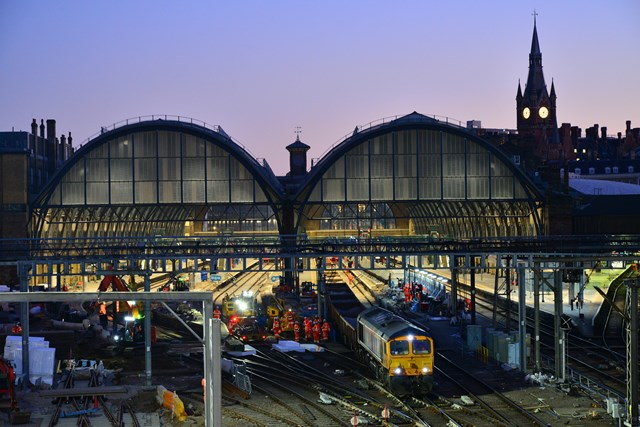 GBRf supports work to improve service to and from King's Cross: GBRf supports work to improve service to and from King's Cross