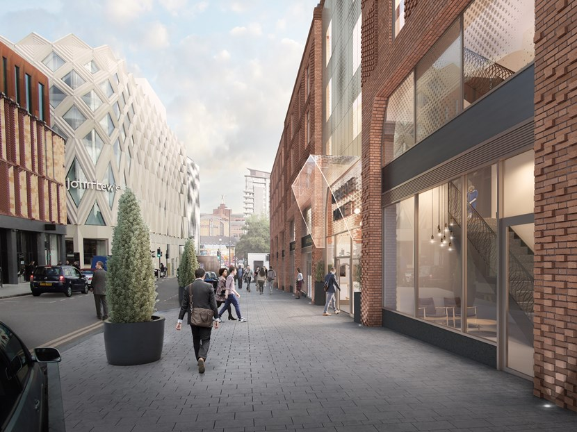 Plans for the redevelopment of George Street to go on display: georgestreetcgi3.jpg