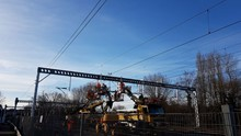 Shenfield overhead wire renewal