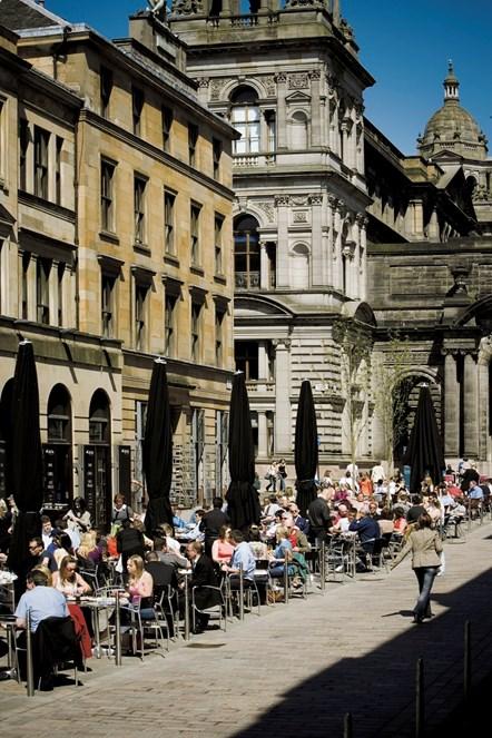 Glasgow visitors - Merchant City