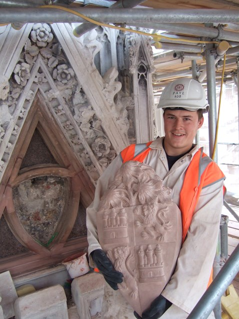 Eleanor Cross Restoration - Charing Cross_1