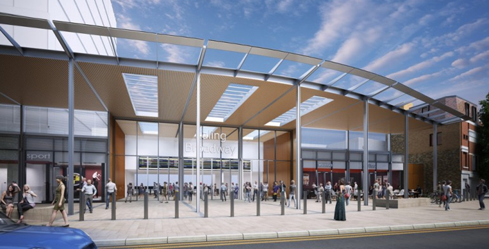 Network Rail awards final west London station upgrade contracts for Crossrail project: Ealing Broadway Station