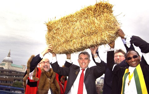 Blackfriars Bundle of Straw Ceremony